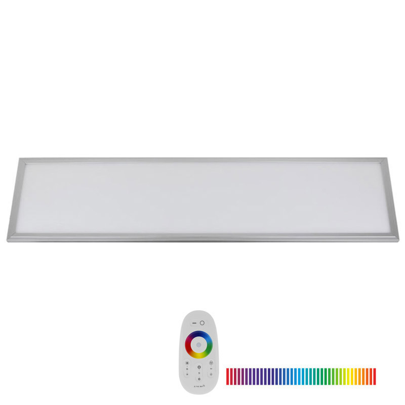 Panel LED 40W, RGB, RF, 30x120cm, RGB